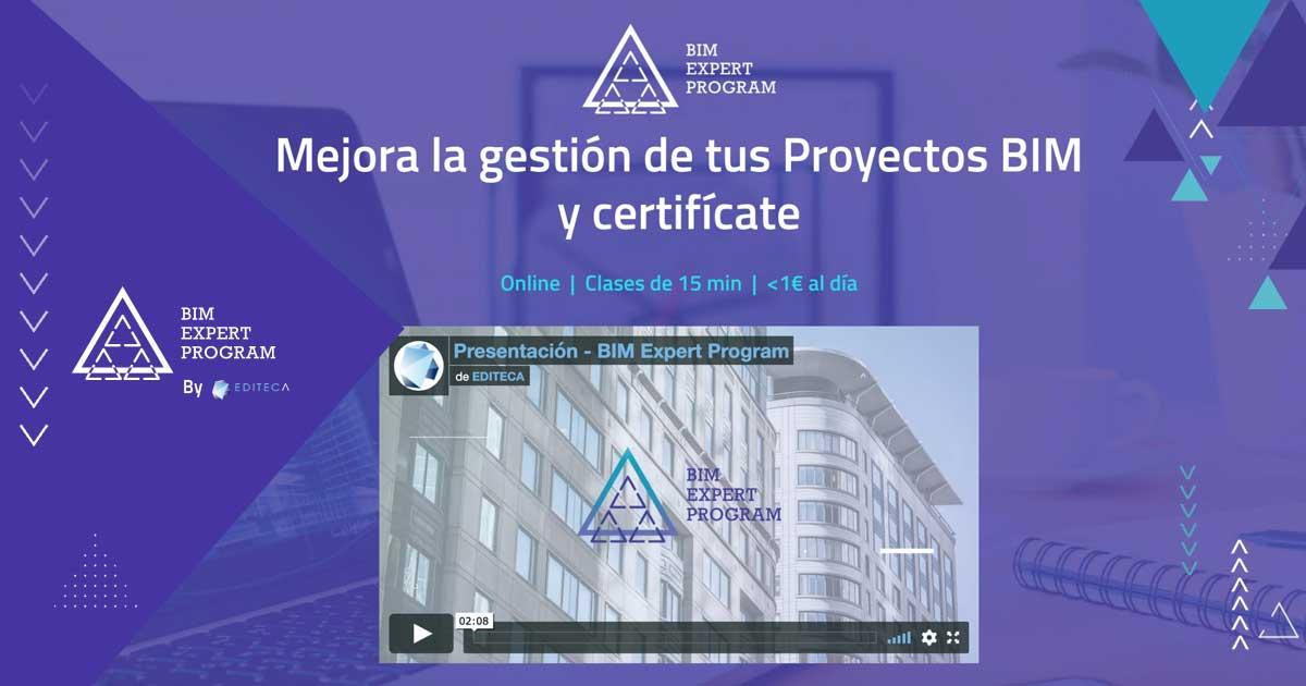 Presentación BIM Expert Program