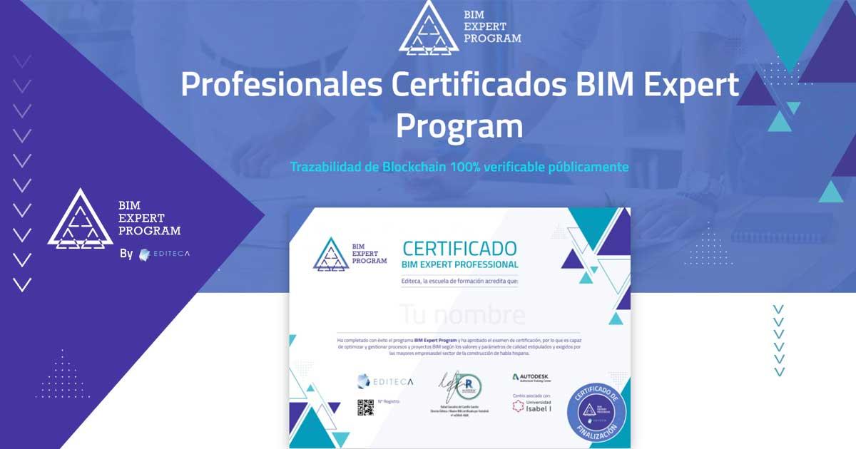 Certificados BlockChain de formación