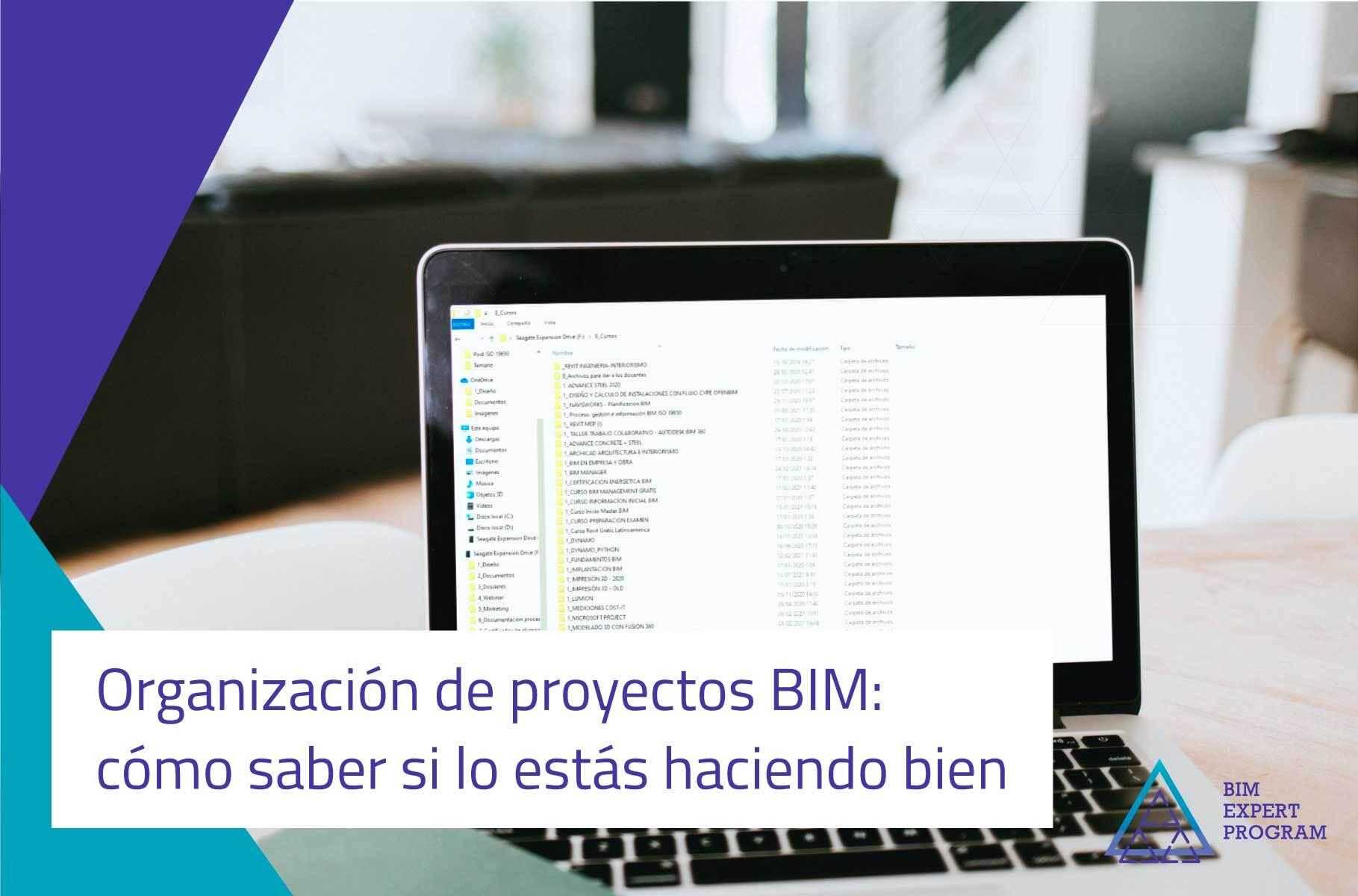 Cómo organizar proyectos BIM