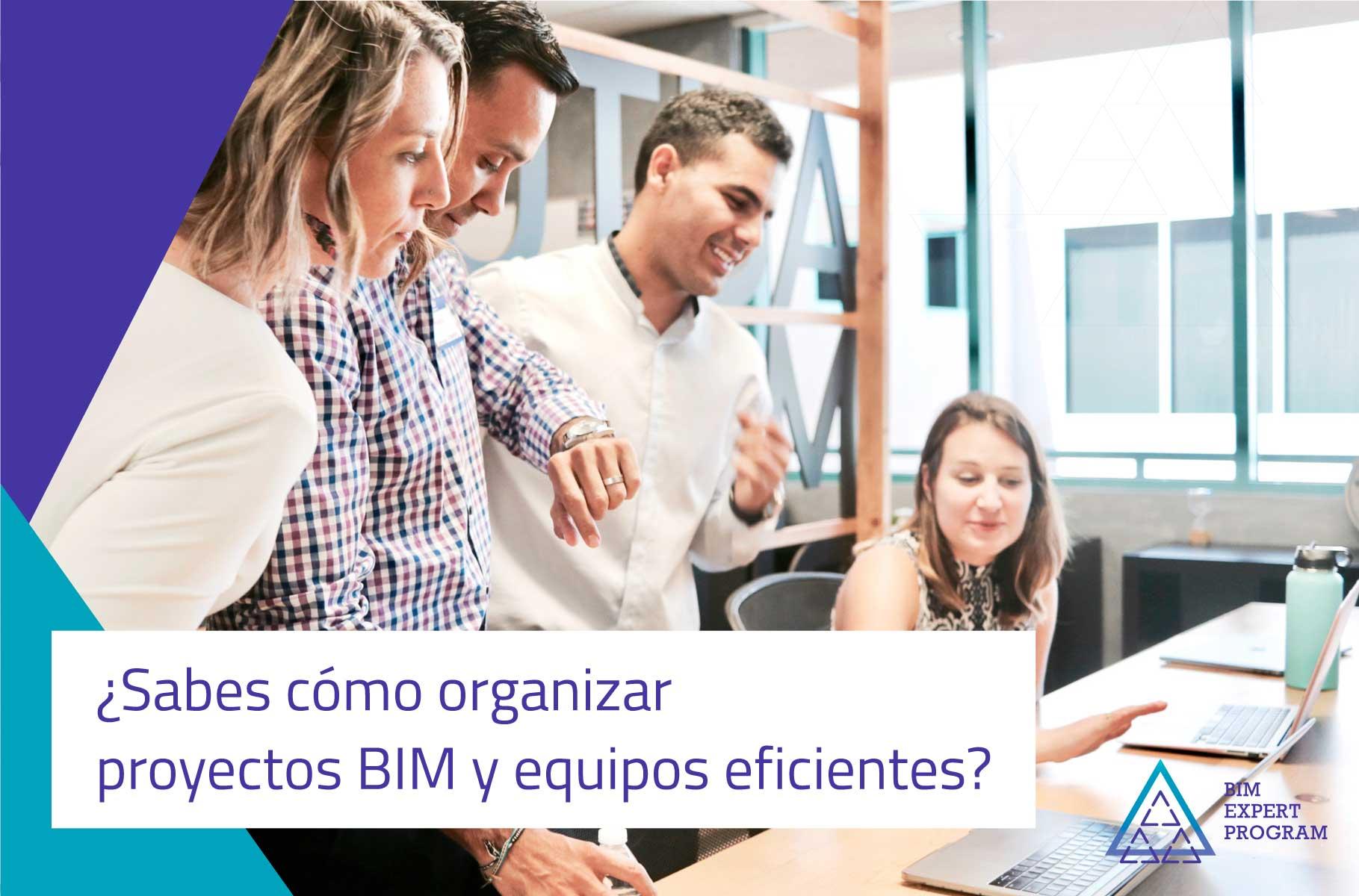 Cómo organizar proyectos BIM y equipos eficientes